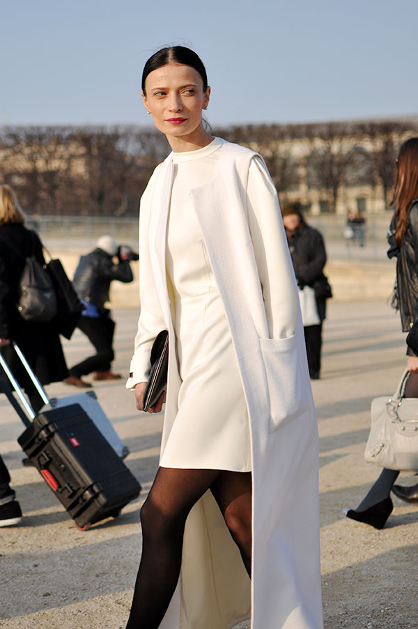 White Coats, Paris Fashion Week - Trendycrew
