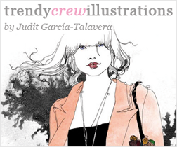 trendy crew illustrations