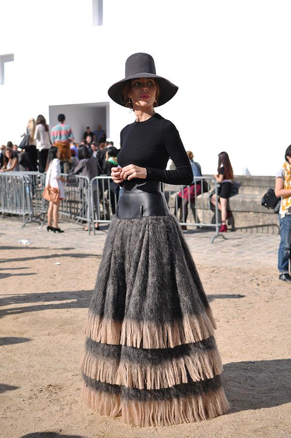 Ulyana Sergeenko  Dior