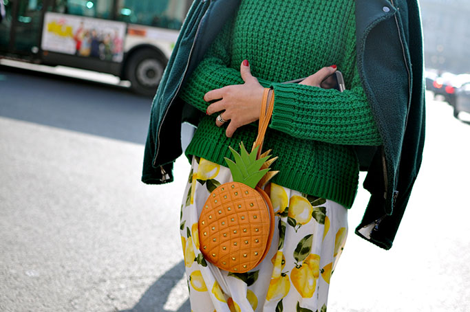 Tiany Kiriloff pineapple bag
