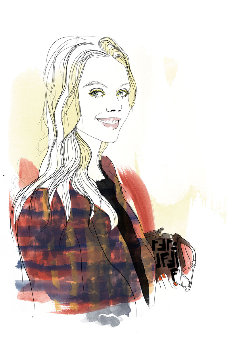 Frida Gustavsson illustration