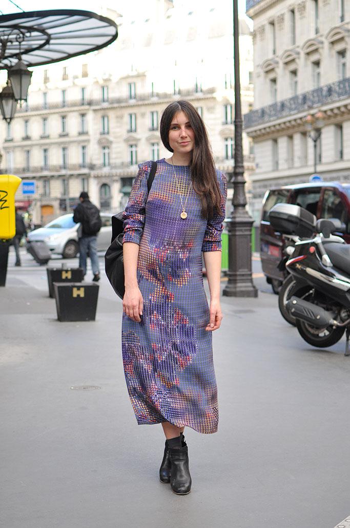 katy shand wearing mungo gurney