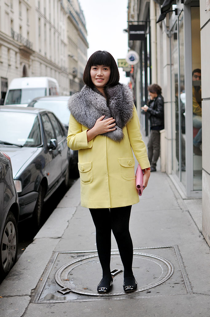 Candy Yellow Coat