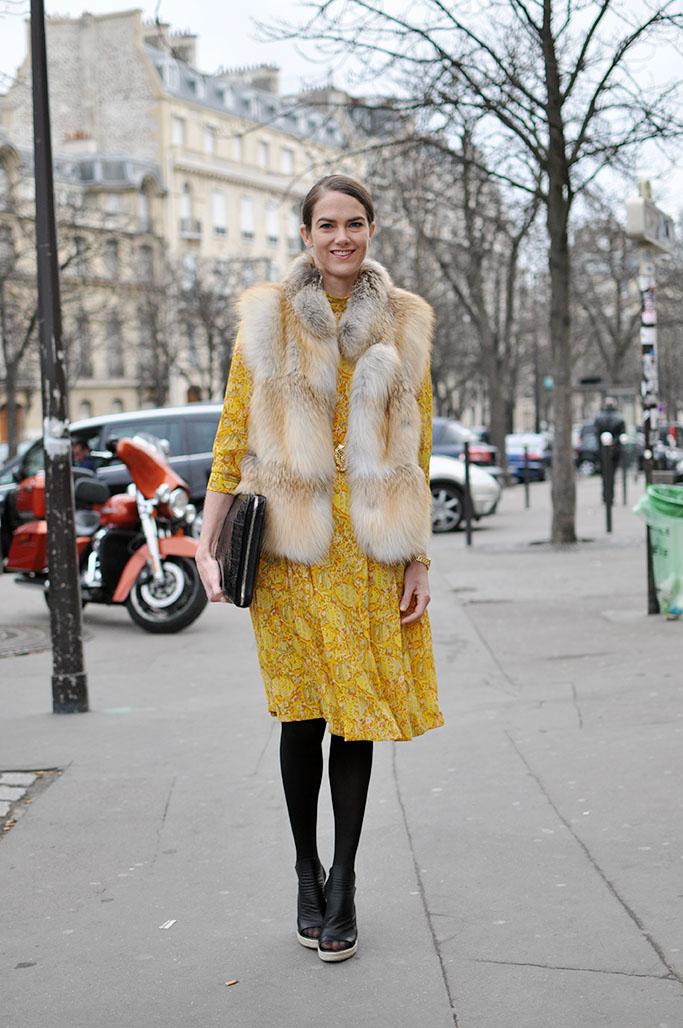 J.J. Martin yellow dress