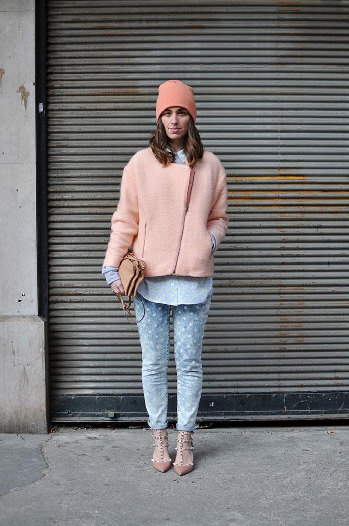Erika Boldrin in pink