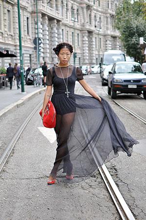 street style Oksana On