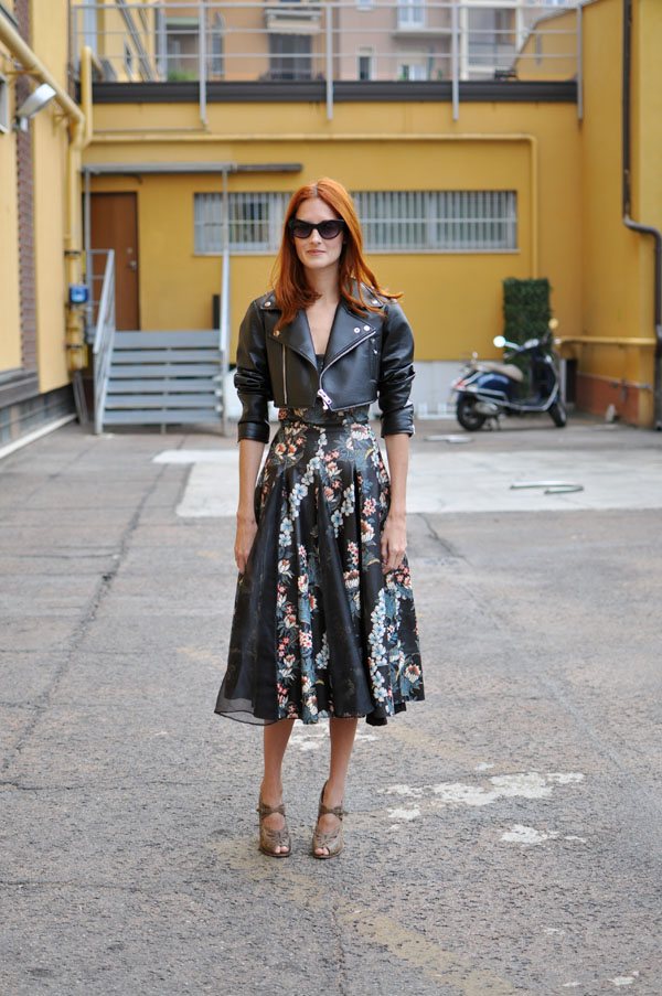 Taylor Tomasi Hill in Milan fashion week