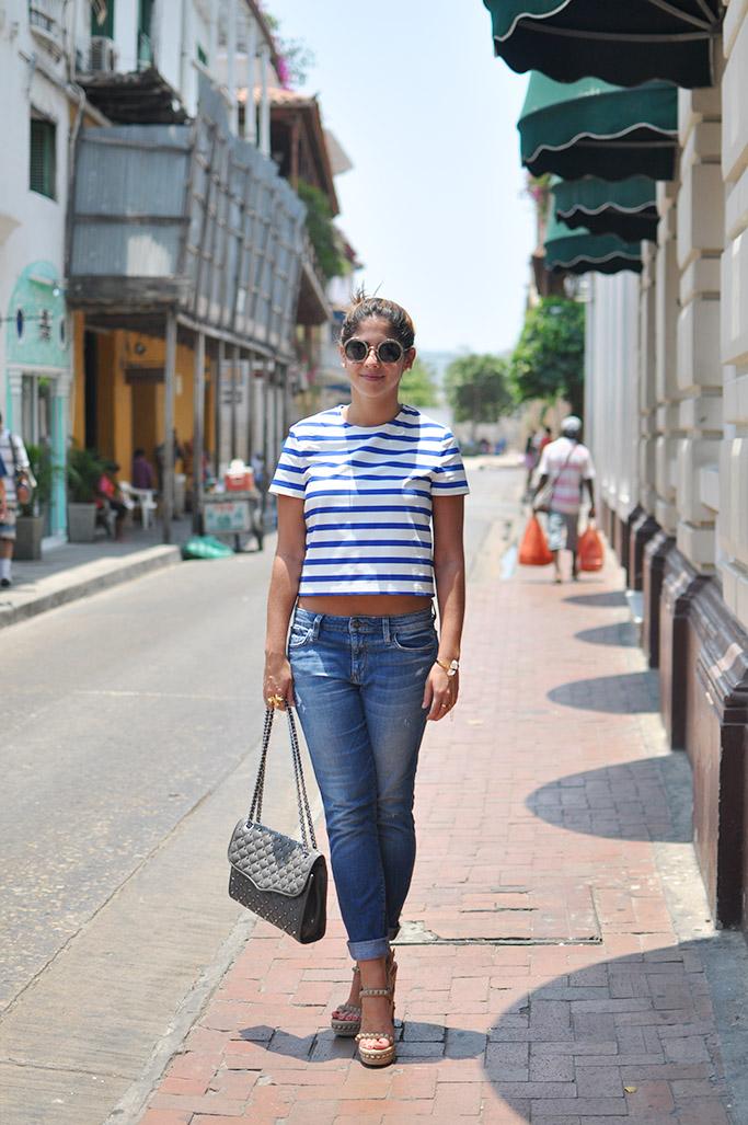 Estefania, cartagena Street Style
