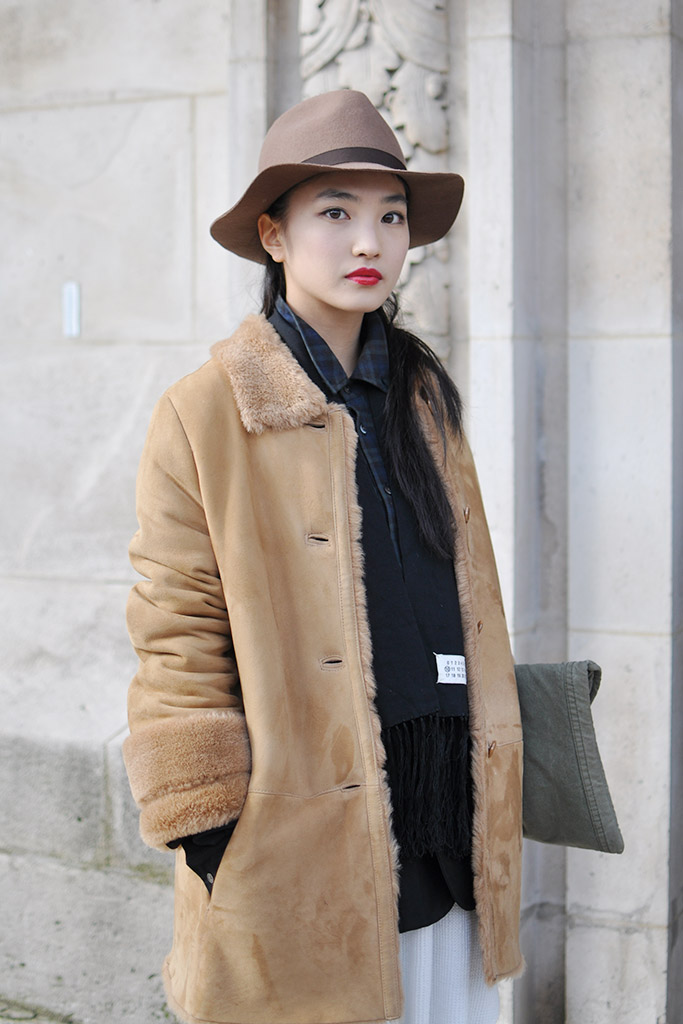Street style after Chanel show