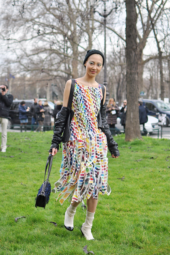 Soo Joo Park after Chanel