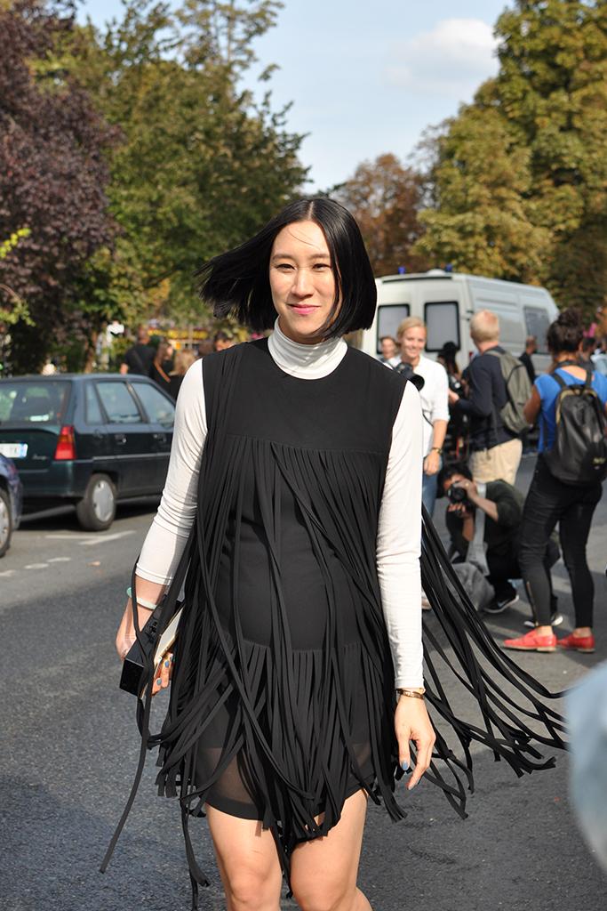 Pregnant Eva Chen