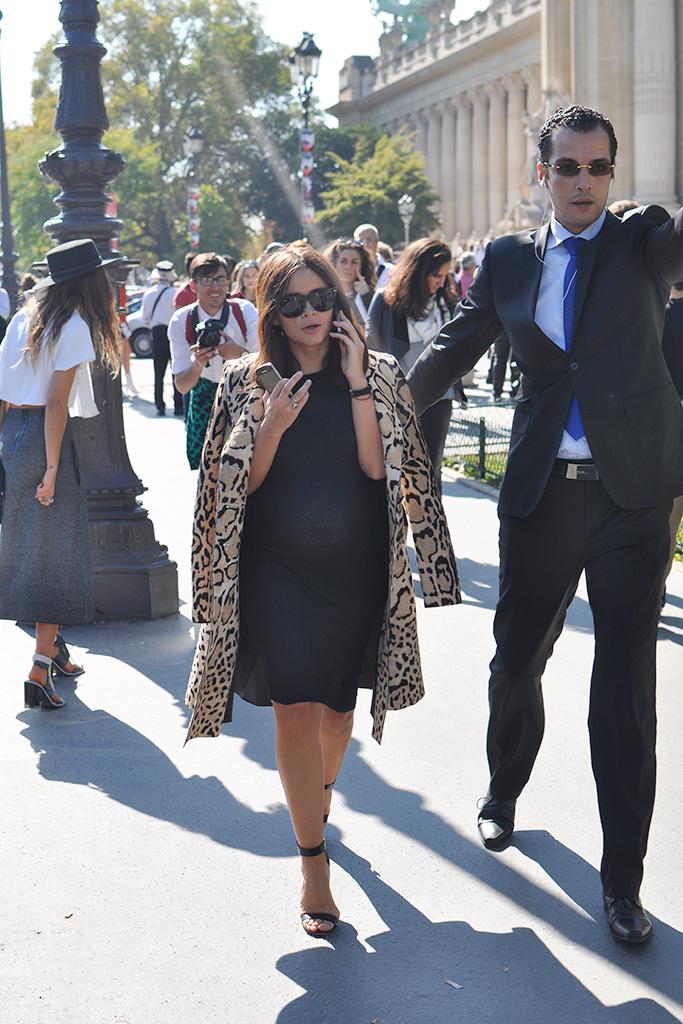 Pregnant Miroslava Duma