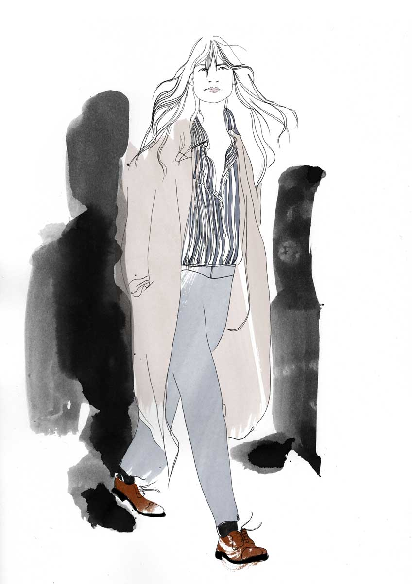 Caroline de Maigret, illustration