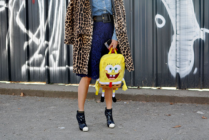 Sponge Bob bag