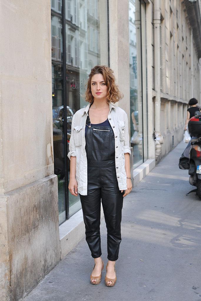 Marguerita, Paris street style