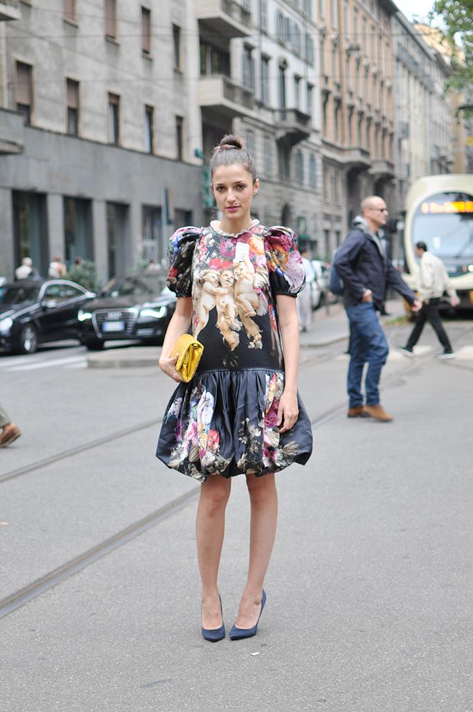 Eleonora Carisi wearing dolce & gabbana
