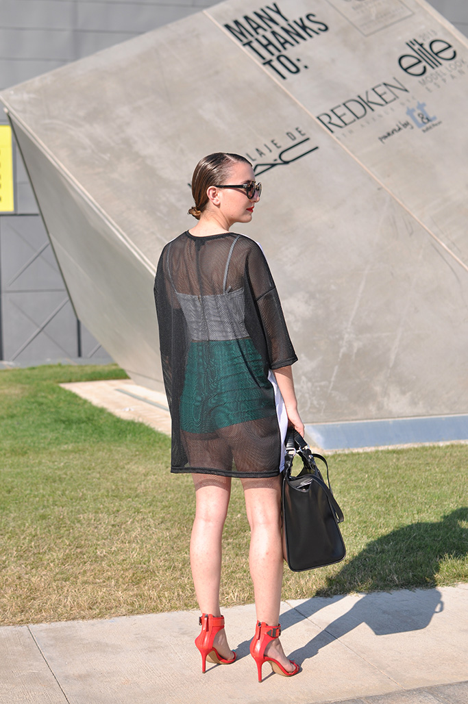 Blair at 080 barcelona fashion