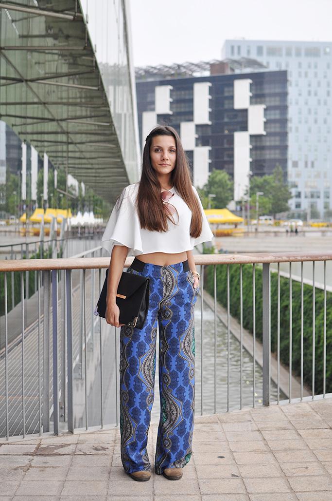 irene at 080 barcelona fashion