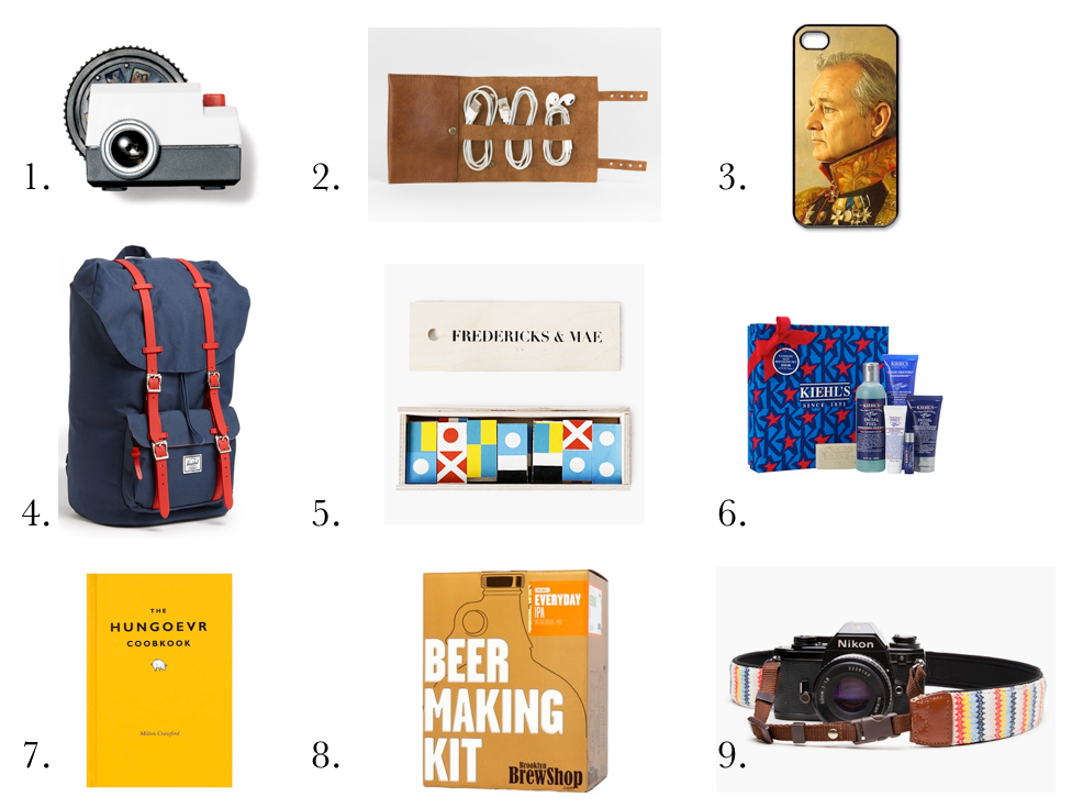 2013 gift guide for him