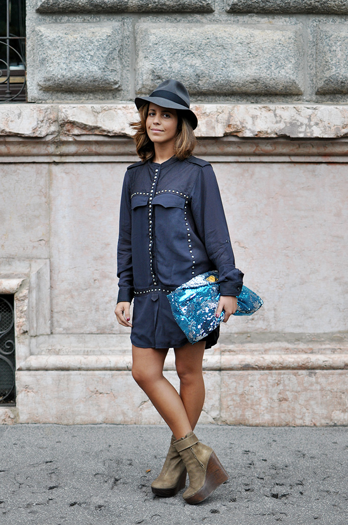 girl with hat, milan