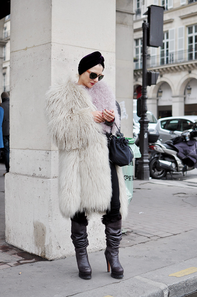 Stylist Catherine Baba in Paris Fashion Week