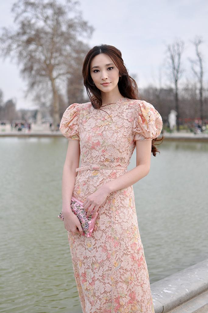Actress Pace Wu at valentino