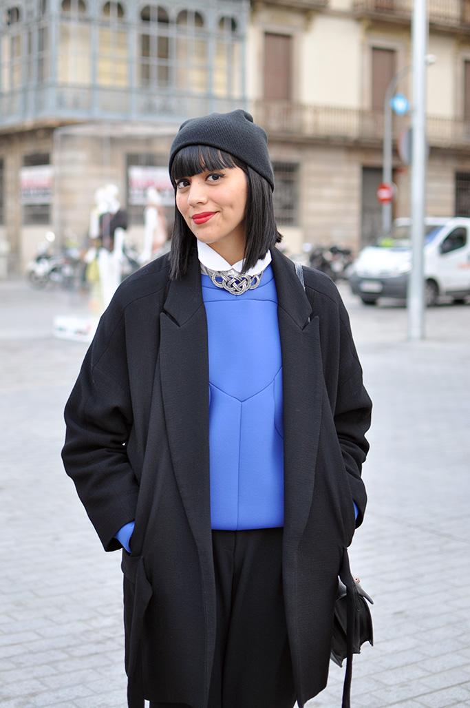 girl at 080 barcelona fashion