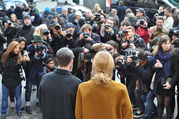 Veronika Heilbrunner and Justin Oshea in Paris
