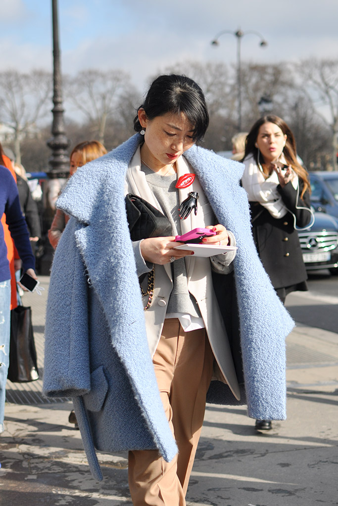 Blue Coat, Paris Fashion Week