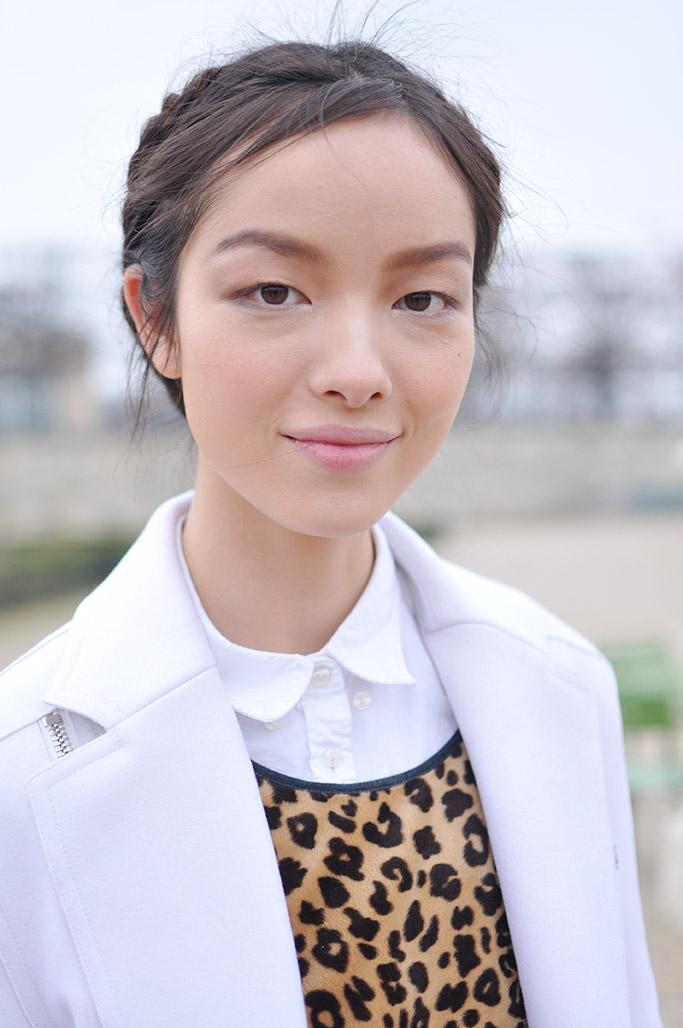 Model Fei Fei Sun