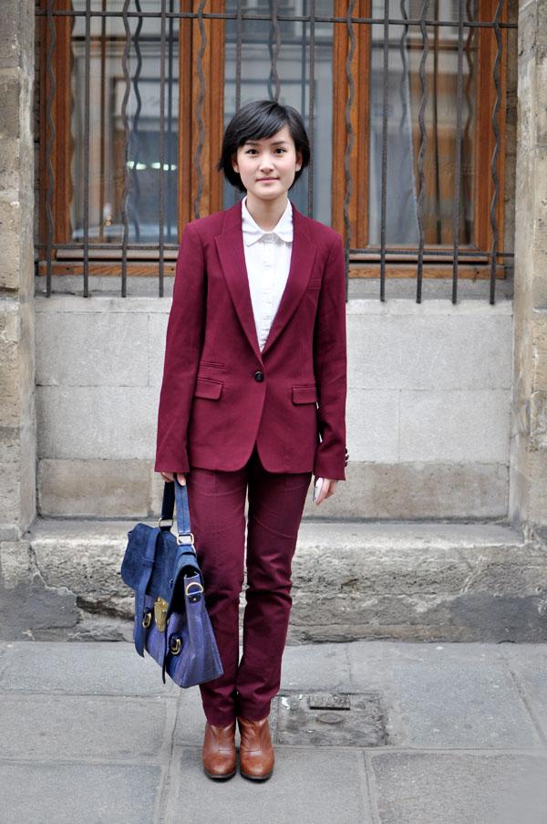 Miu, Paris Street Style