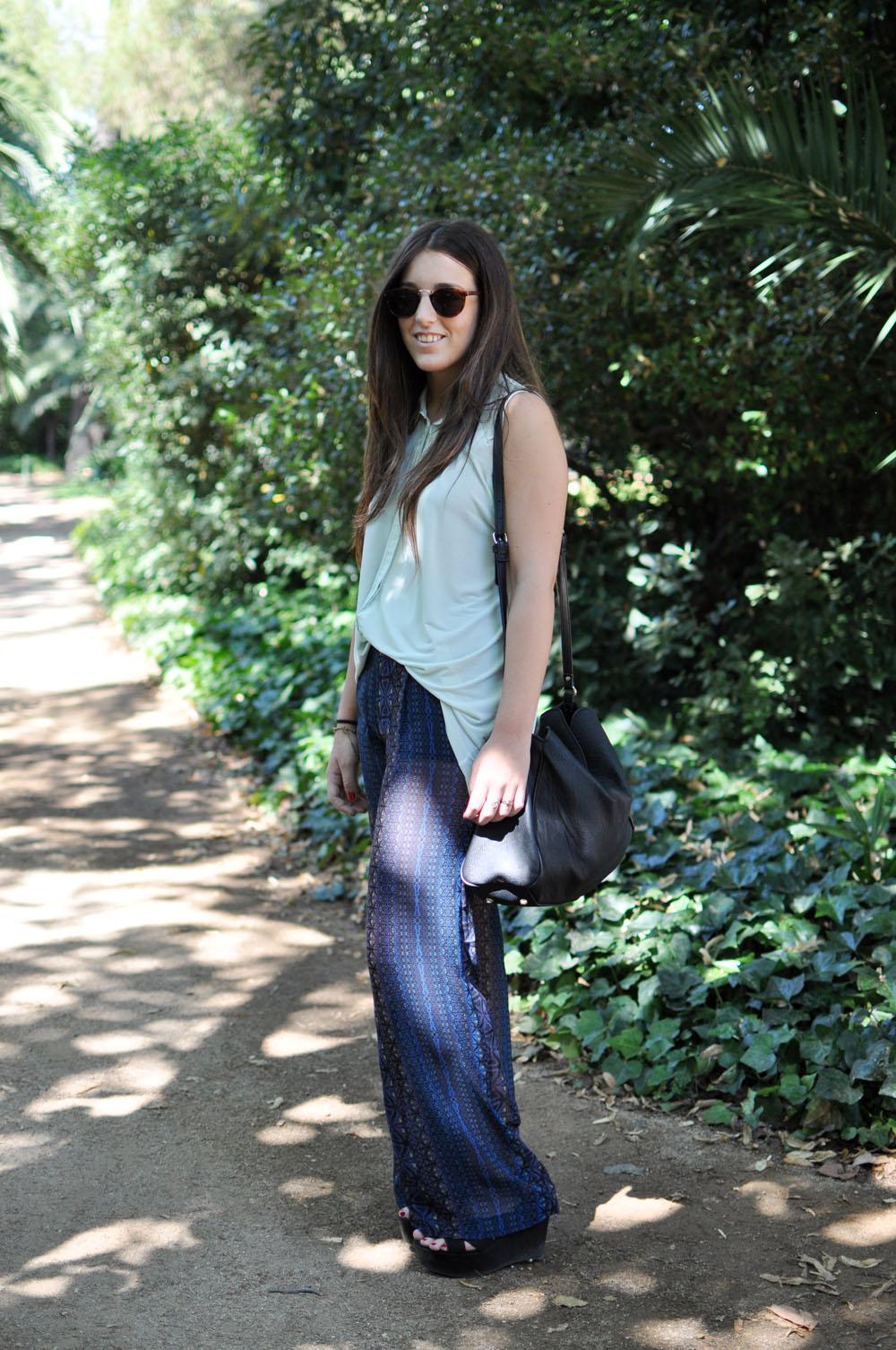 Mireia at 080 barcelona fashion