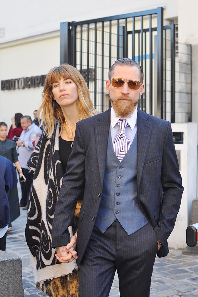 Veronika Heilbrunner and Justin O'Shea
