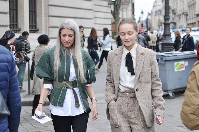 Sarah Harris and Daria Shapovalova
