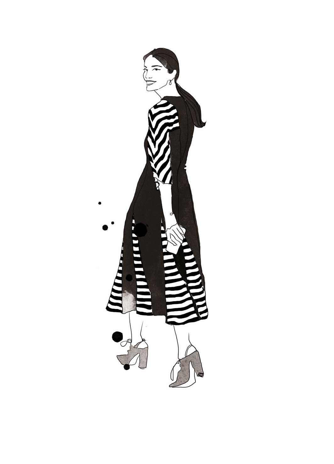 Caroline Issa, Illustration
