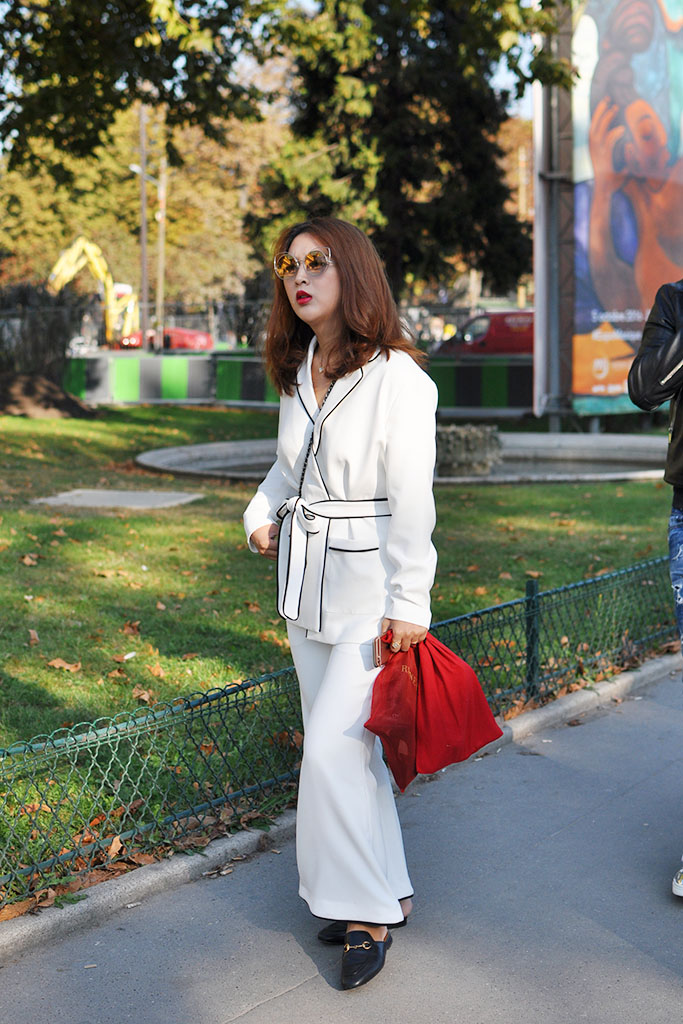 Streetstyle after chanel