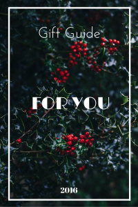 Gift guide for you